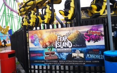 Fear Island II Halloween Review 2018