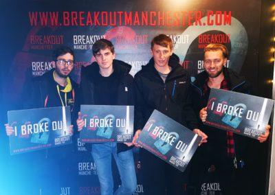 Breakout Escape Reclassified Blue
