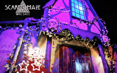 Walsall Scare Maze Halloween Review 2019