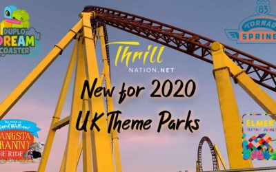 New for 2020 UK Theme Parks