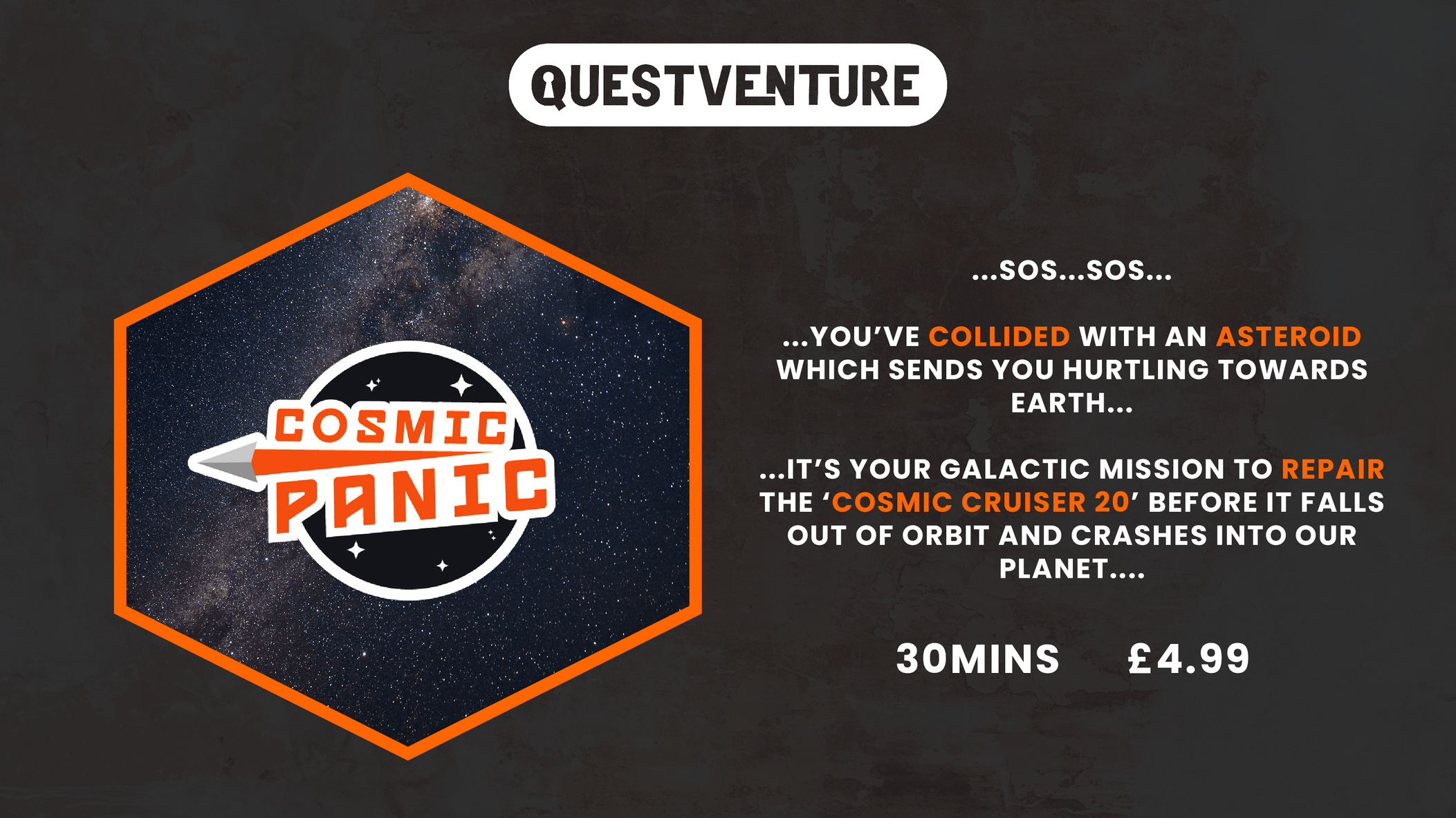 Questvenure Cosmic Panic