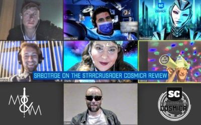Sabotage on the Starcrusader Cosmica Virtual Murder Mystery Review