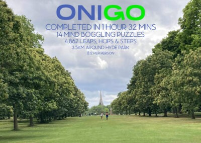 Hyde Park Escape Game Onigo