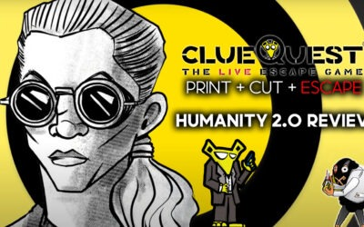 clueQuest Print Cut Escape Episode 3 Review