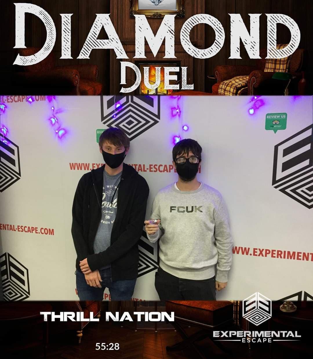 Diamond Duel at Experimental Escape Review