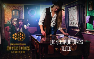 The Steampunk Express by Escape Rooms Adventure Review